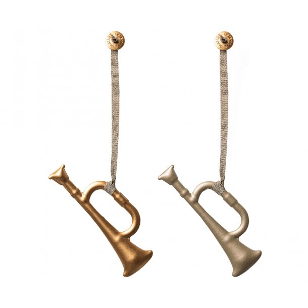 Maileg: Metal trompet