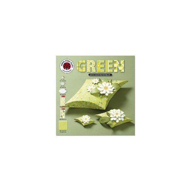 Karen Marie Klip: Gratis folder - Green