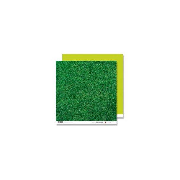 Karen Marie Klip: Scrapbookingark - Grass One