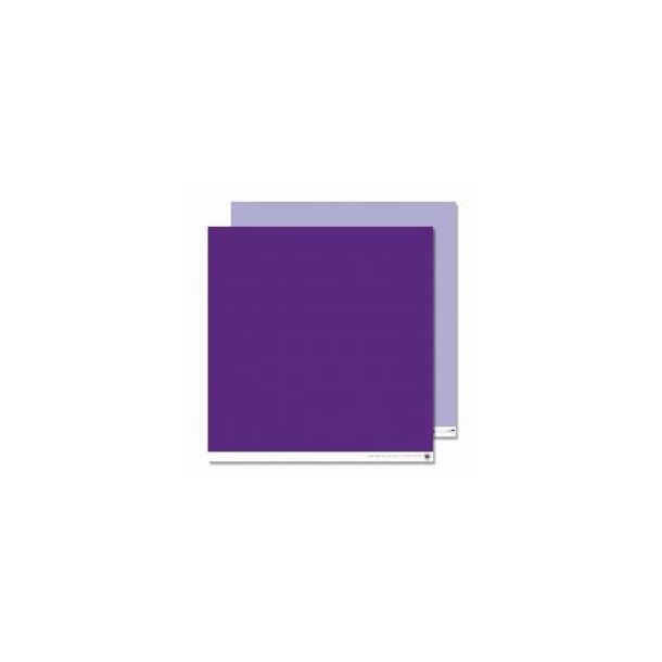 Karen Marie Klip: Scrapbookingark - Lilac One