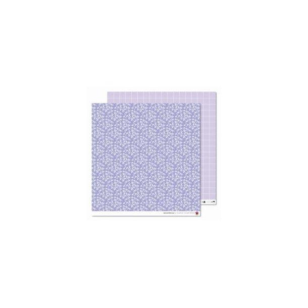 Karen Marie Klip: Scrapbookingark - Leef Pattern Lilac